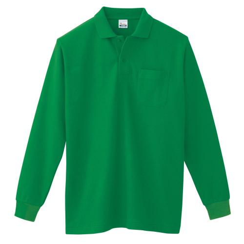T/C長袖ポロシャツ