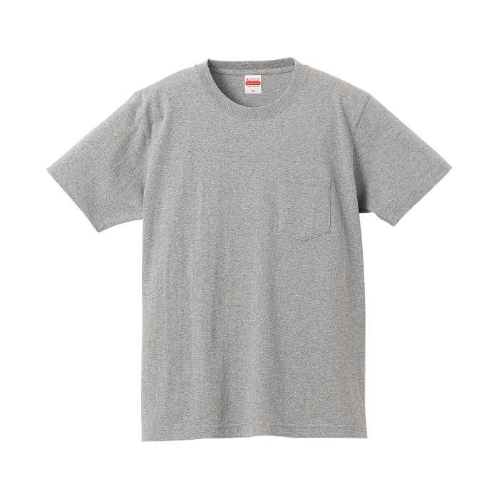 7.1オンス オーセンティック スーパーヘヴィーウェイト Tシャツ(ポケット付)(オープンエンドヤーン)