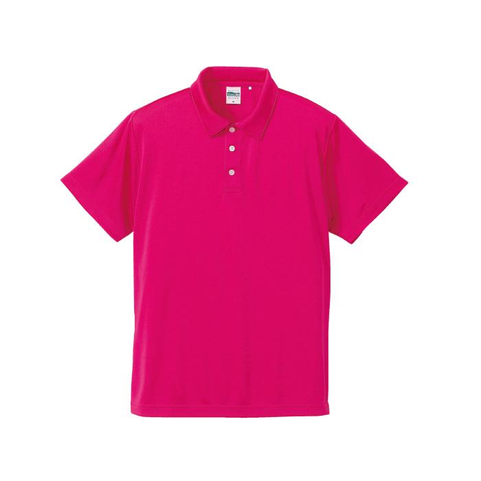 4.7オンス ドライシルキータッチ ポロシャツ