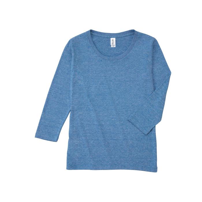 トライブレンド3/4スリーブTシャツ(レディース)