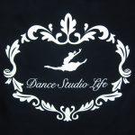 プリント制作事例:Dance Studio Life