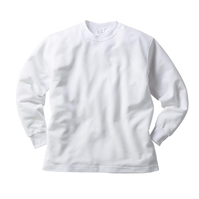 ハニカム長袖Tシャツ(リブ有り)