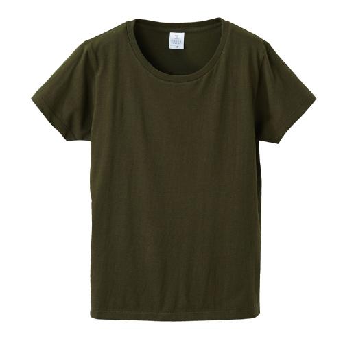 4.7オンス ファインジャージー Tシャツ(ガールズ)