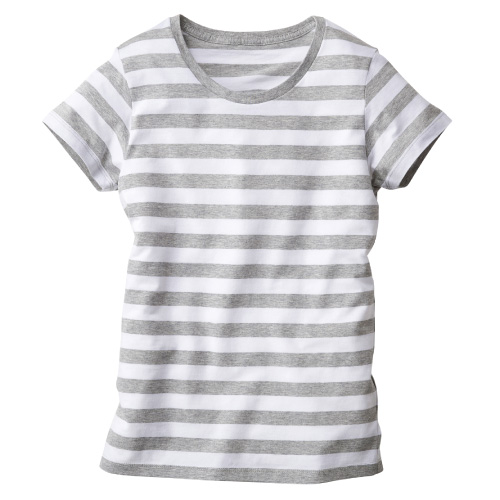 ウィメンズボーダーTシャツ