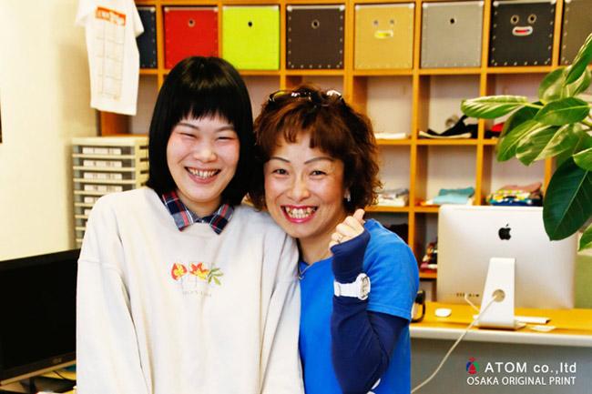 エアロビクス Tシャツ 001 大阪 オリジナルプリント