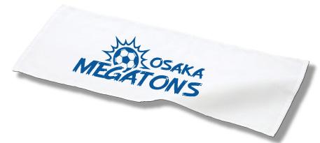 スポーツ用タオルにプリント