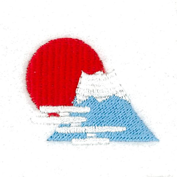 アトムミニの刺繍デザイン にっぽん