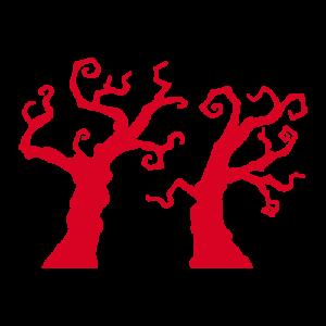 妖しい枯れ木