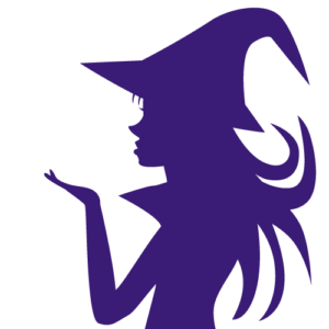 魔女シルエット