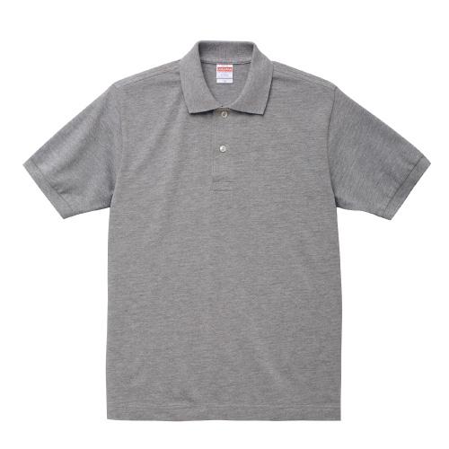 6.0オンス ヘヴィーウェイト コットン ポロシャツ