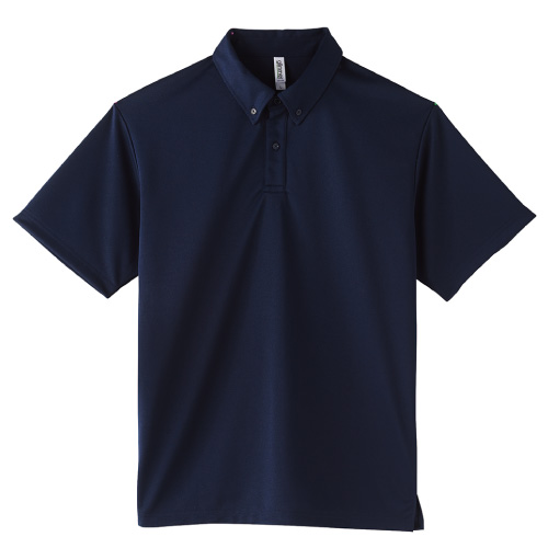 4.4オンス ドライボタンダウン ポロシャツ(ポケット無し)
