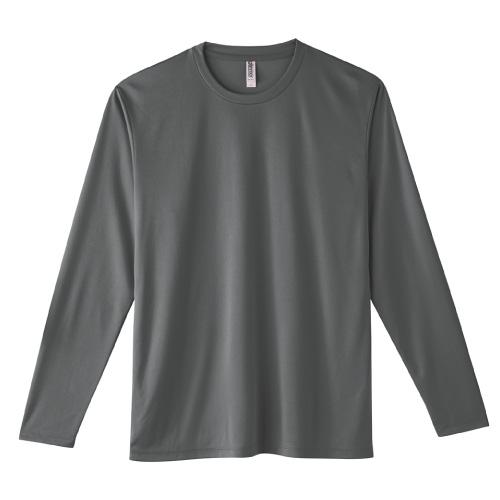 3.5オンス インターロックドライ 長袖Tシャツ
