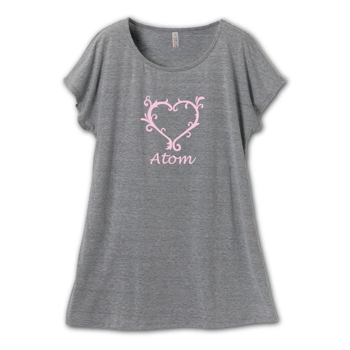 4.1オンス Tシャツ ワンピース(ミニ丈)のプリントイメージ