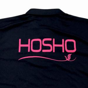 豊翔高等学院様のポロシャツデザインシルクプリント