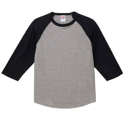5.6オンス ラグラン3/4スリーブ Tシャツ