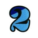 ワッペン「数字の2」