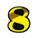 ワッペン「数字の8」
