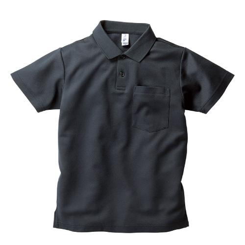 ポケット付き アクティブ ポロシャツ