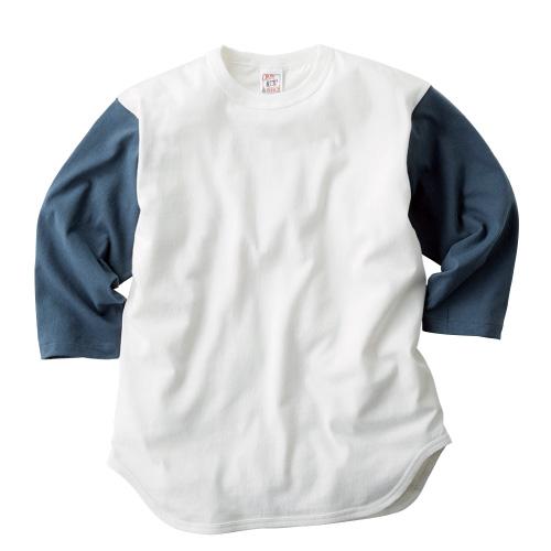 オープンエンド 3/4スリーブ ベースボール Tシャツ