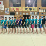 武庫川女子大学体操部様のドライハーフパンツにプリント!
