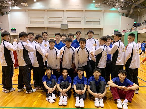 清風高等学校体操競技部様のウインドブレーカー