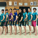 武庫川女子大学体操部ドライハーフパンツ