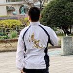 プリント制作事例:清風高等学校体操競技部のウインドブレーカー