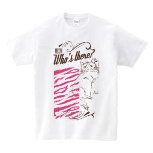 いきもの×柄 個性Tシャツ:猫2色