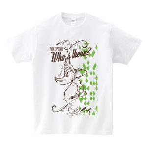 いきもの×柄 個性Tシャツ:金魚2色