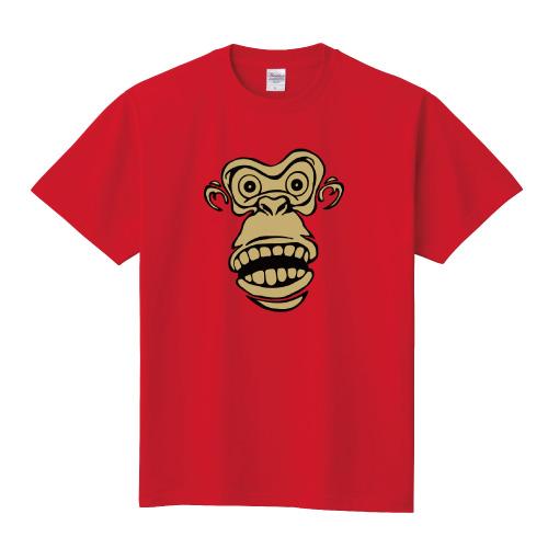 モンキーTシャツ:フェイス2色