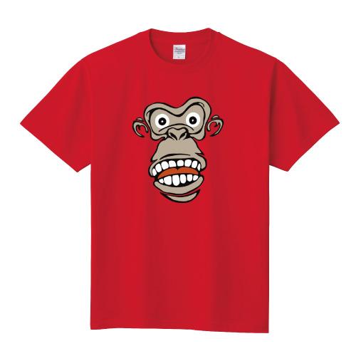 モンキーTシャツ:フェイスカラー