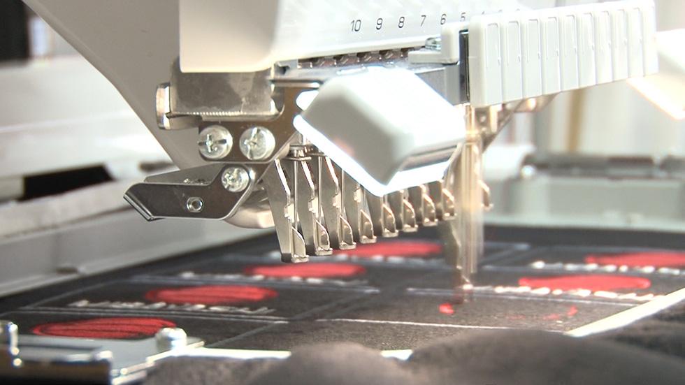刺繍工房もオープンしました