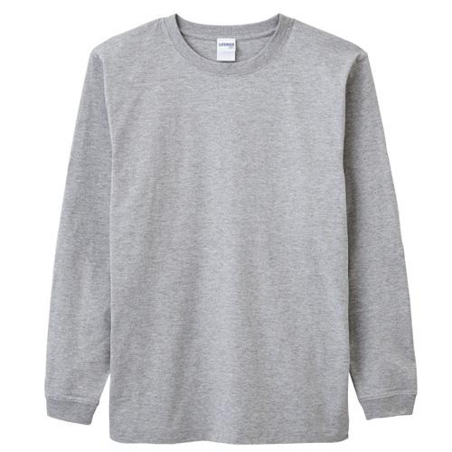 6.2オンスヘビーウェイトロングスリーブTシャツ(カラー)