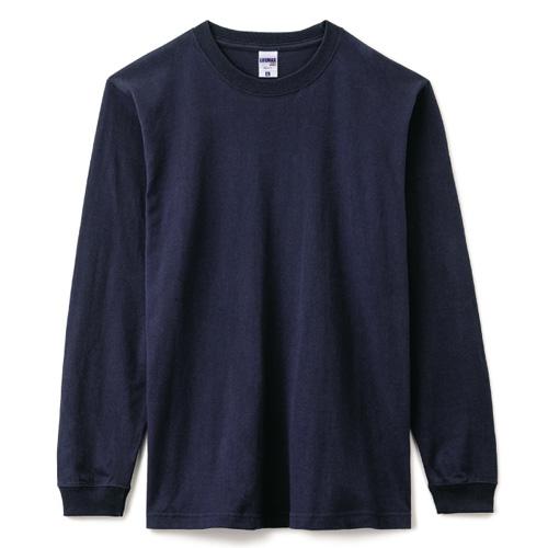 6.2オンスヘビーウェイトロングスリーブTシャツ(ポリジン加工)